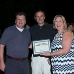 Chefs receiving award