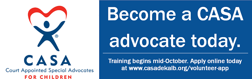 Become a CASA advocate today.