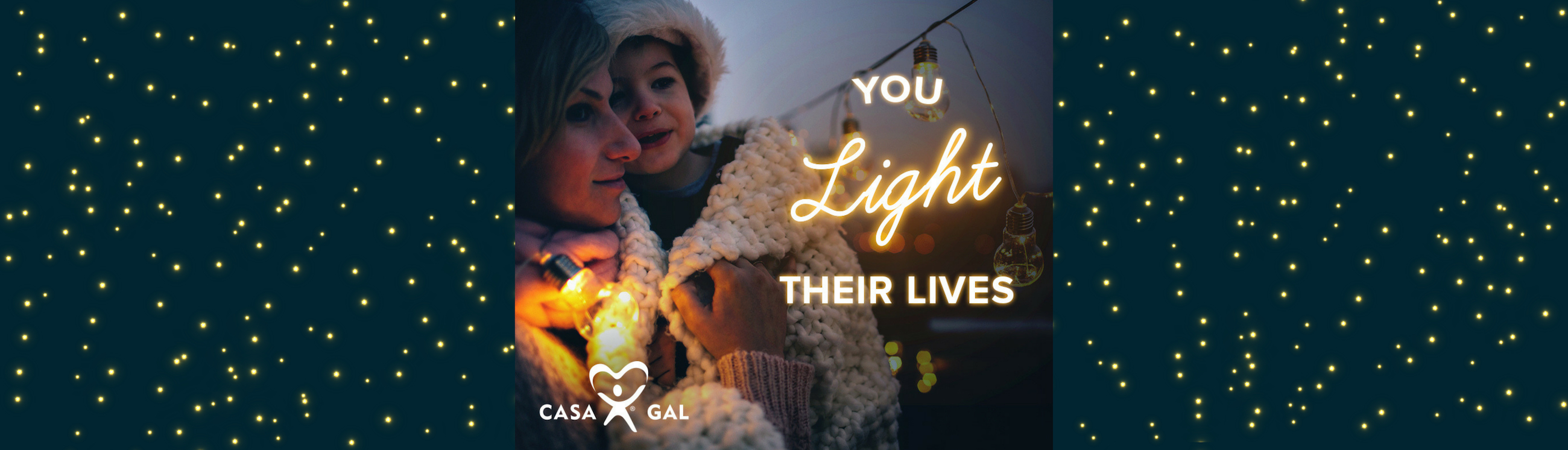 Website Banner You Light Their Lives