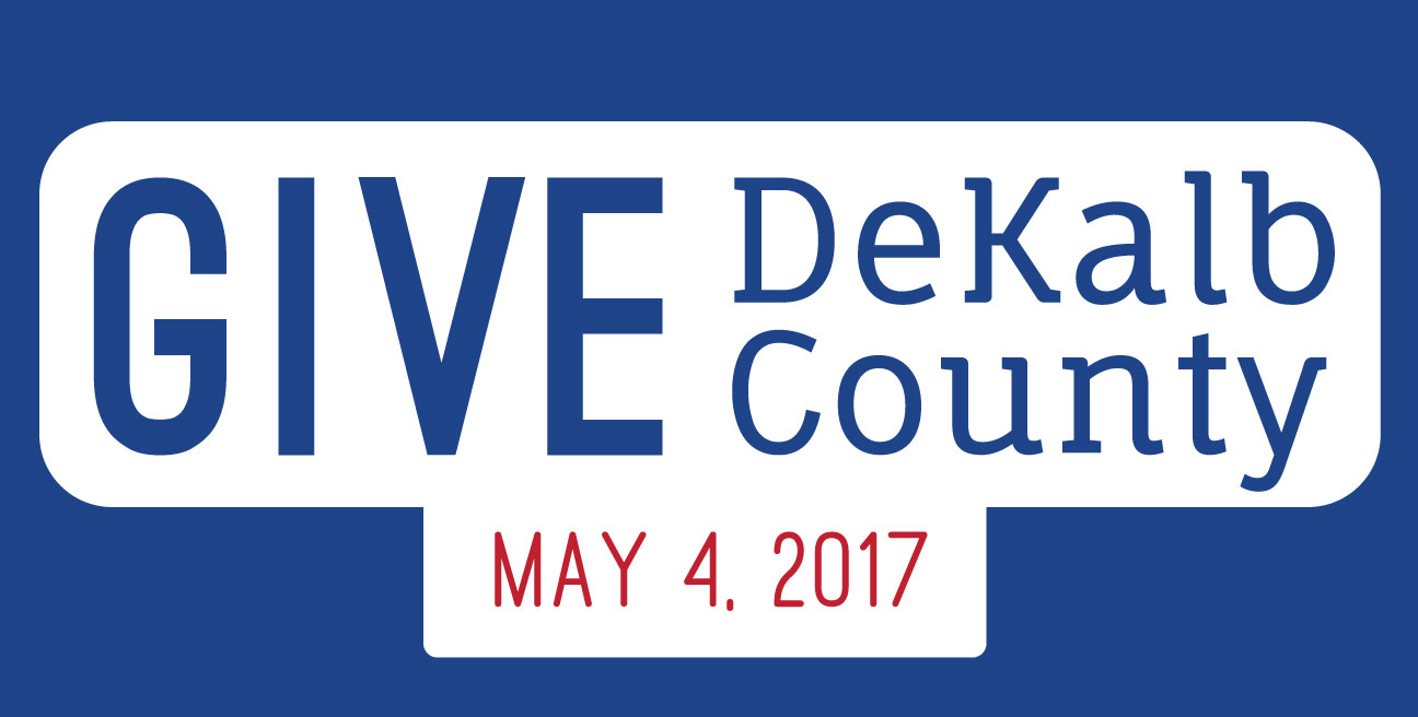 Give DeKalb County logo with date: May 4